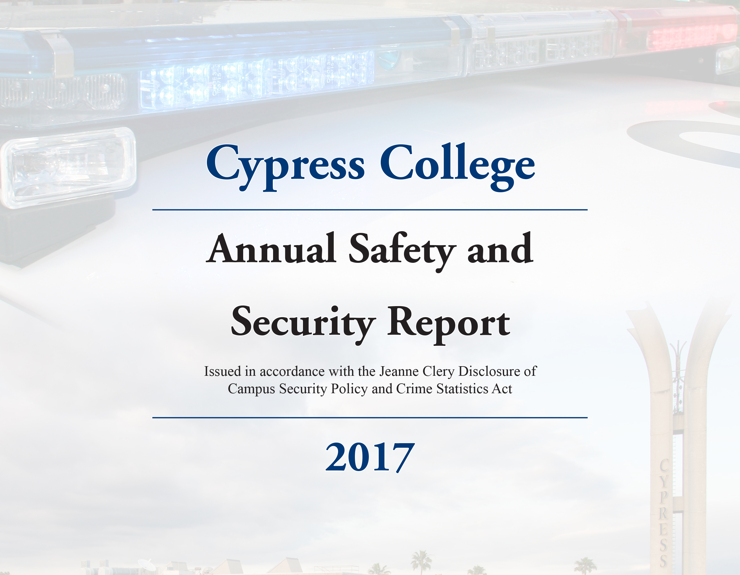 Clery Report 2017