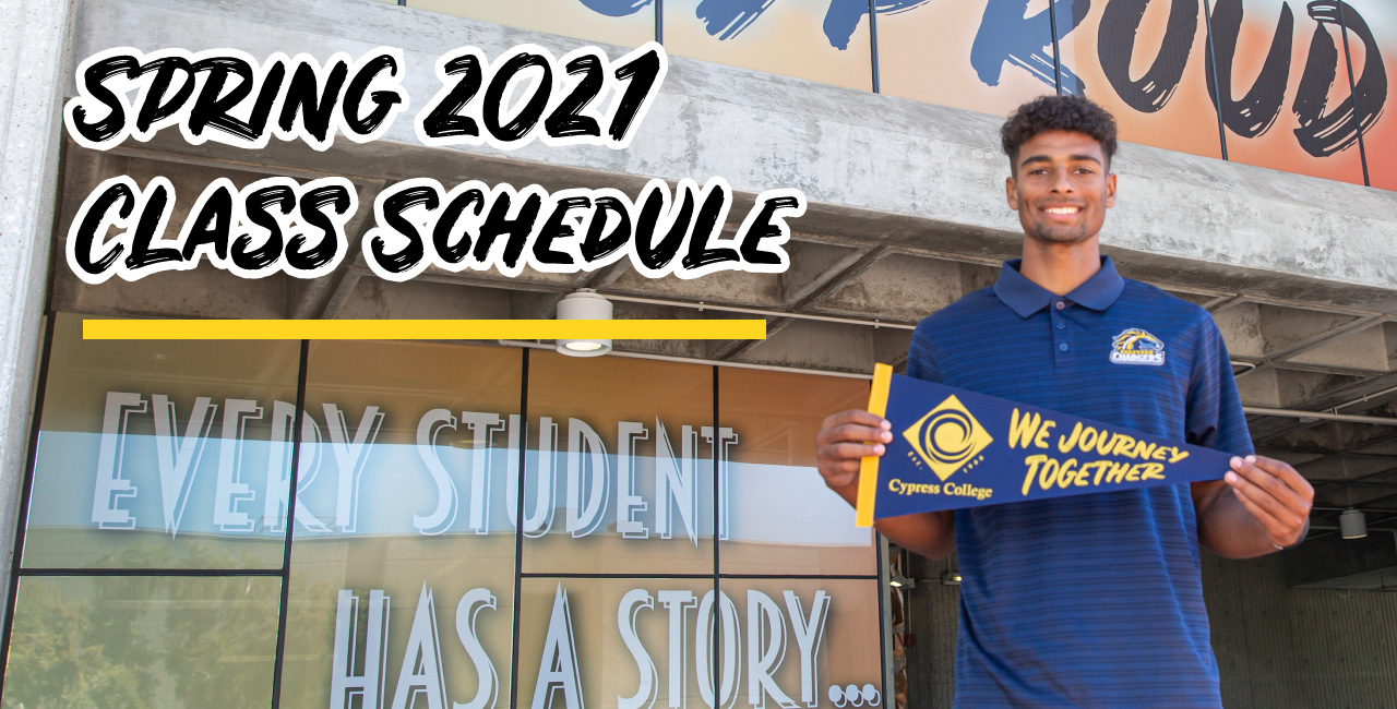 View the Spring 2021 Class Schedule