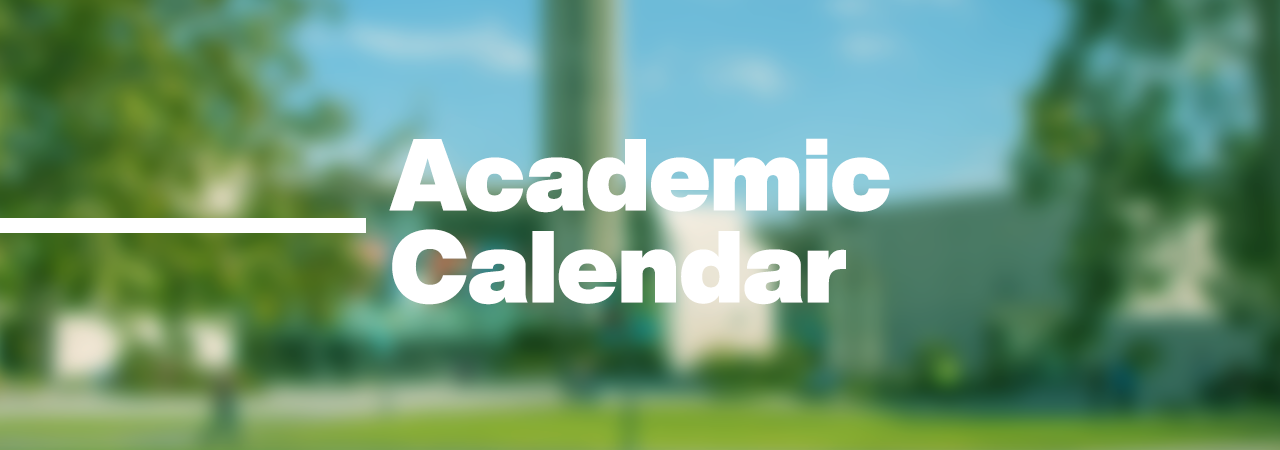 Academic Calendar — Cypress College